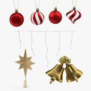 Christmas Decor Collection 3d model