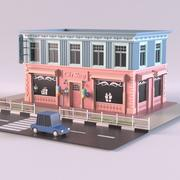 Boutique de souvenirs 3d model