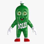 Cartoon Soda Dollynho Bottle 3d model