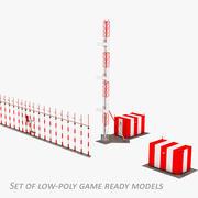 Équipement de navigation ILS 3d model