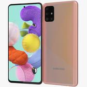 Samsung Galaxy A51 Pink 3d model