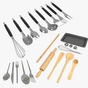 Kök Matlagning och matsamling 3d model