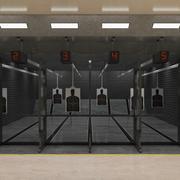 Campo de tiro (interior) 3d model