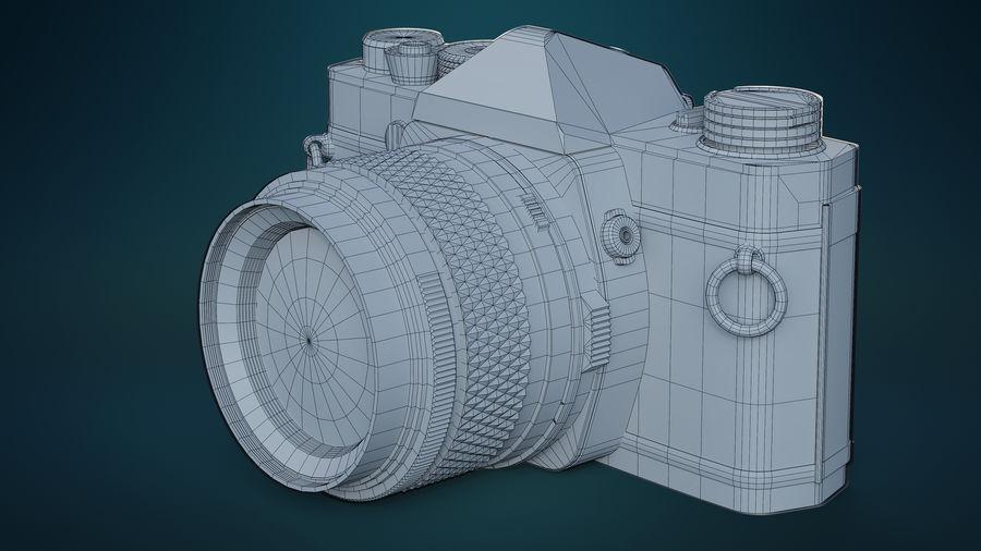 Film camera royalty-free 3d model - Preview no. 10