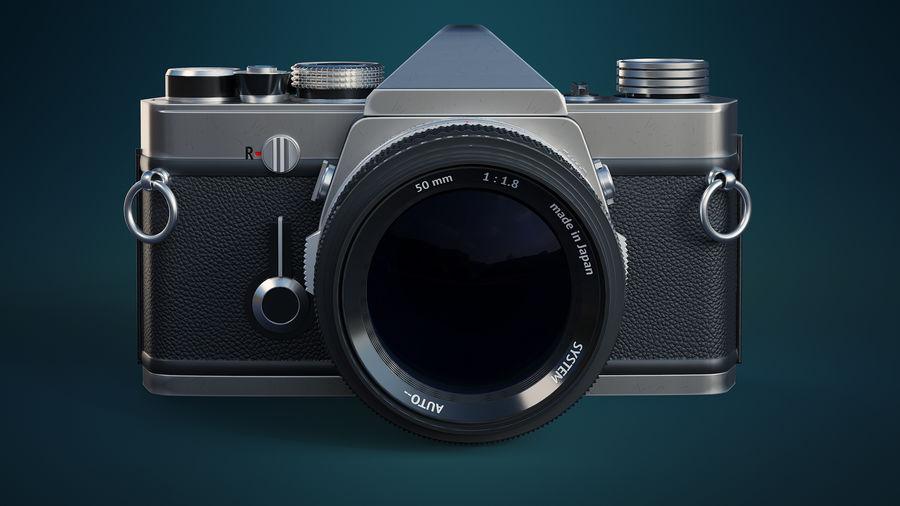 Film camera royalty-free 3d model - Preview no. 7
