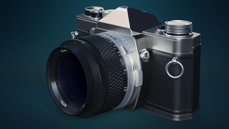 Film camera royalty-free 3d model - Preview no. 5