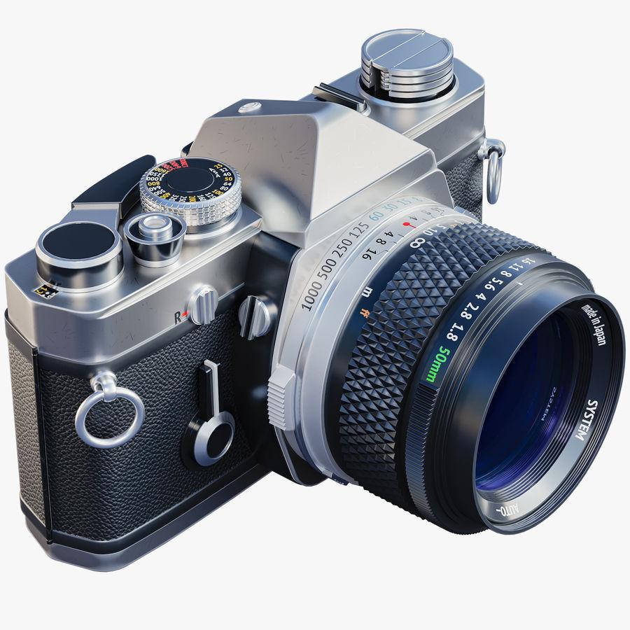 Film camera royalty-free 3d model - Preview no. 1