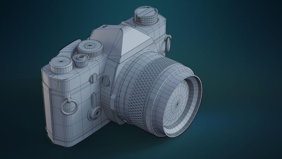 Film camera royalty-free 3d model - Preview no. 8