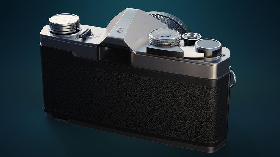 Film camera royalty-free 3d model - Preview no. 4