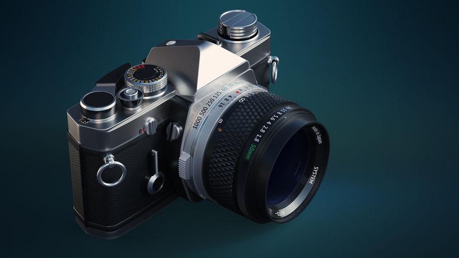 Film camera royalty-free 3d model - Preview no. 2