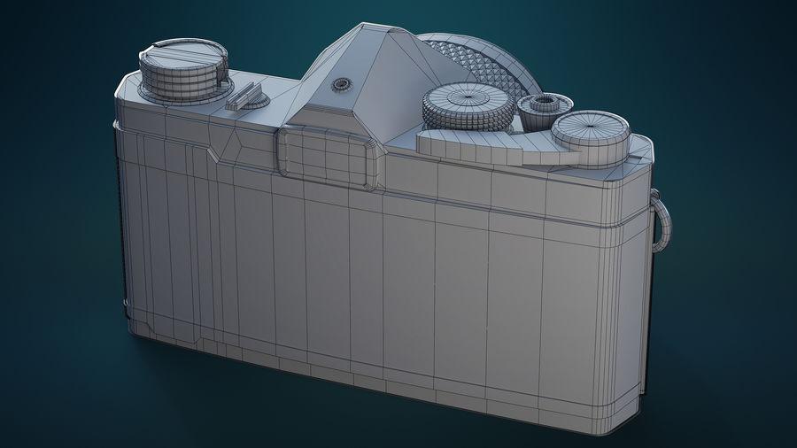 Film camera royalty-free 3d model - Preview no. 11