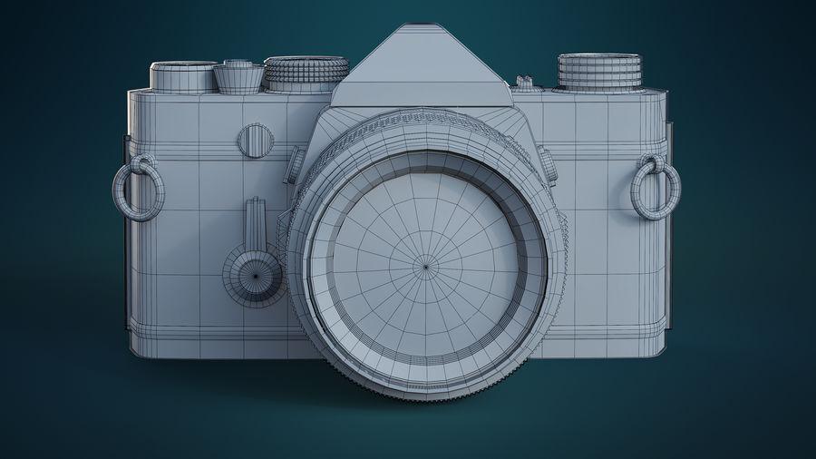 Film camera royalty-free 3d model - Preview no. 13