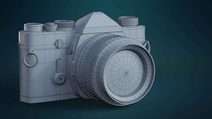 Film camera royalty-free 3d model - Preview no. 12