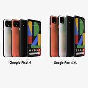 Google Pixel 4 y Pixel 4 XL Collection modelo 3d