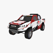 Toyota Hilux Rally Dakar 2019 3d model