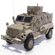 International MaxxPro MRAP 3d model