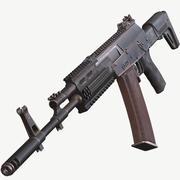 AK 12 v3 PBR Game Ready 3d model