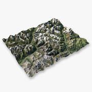 Mountain Alps -2 3d model