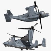 Bell CV22 Osprey 3d model