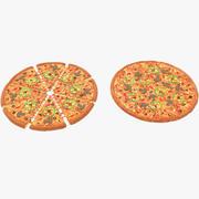 Pizza(1) 3d model