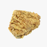 FriedChickenThigh 3d model