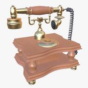 ビンテージ電話PBR(1) 3d model