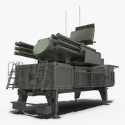 Sistema di difesa aerea Pantsir S1 SA-22 Greyhound 3d model