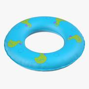 Aufblasbarer Pool-Schwimmring 3d model