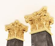 classic column 3d model