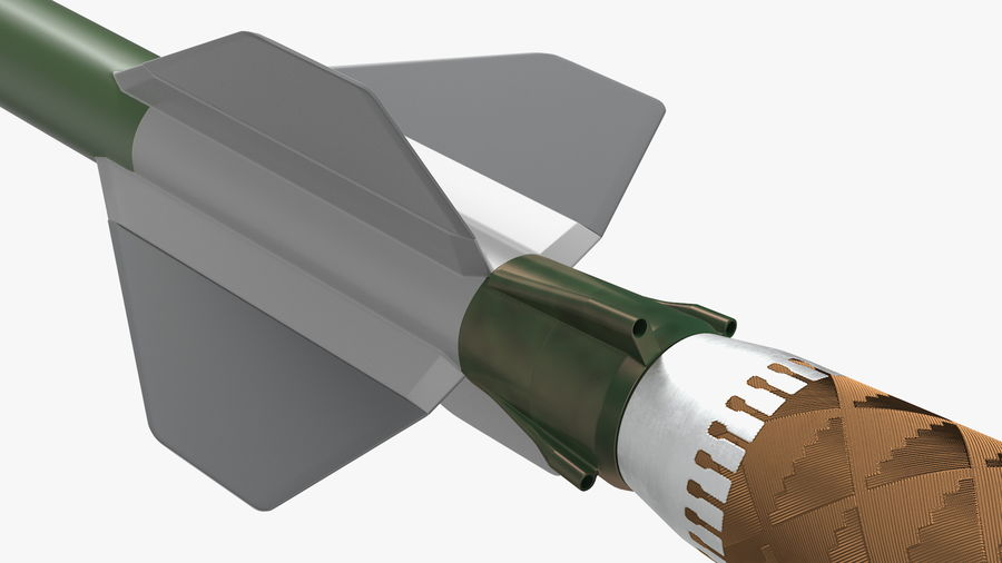 Surface to Air Missile Generic royalty-free 3d model - Preview no. 10