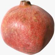 Scanned Pomegranate 01 3d model
