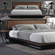 Envy Queen Bed SET 3d model