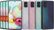 Samsung Galaxy A71 todas as cores 3d model