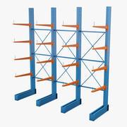 Depolama rafı 3d model