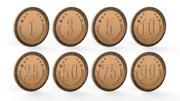 Münzen 3d model
