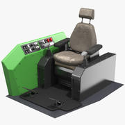 Feller Buncher Seat 3d model