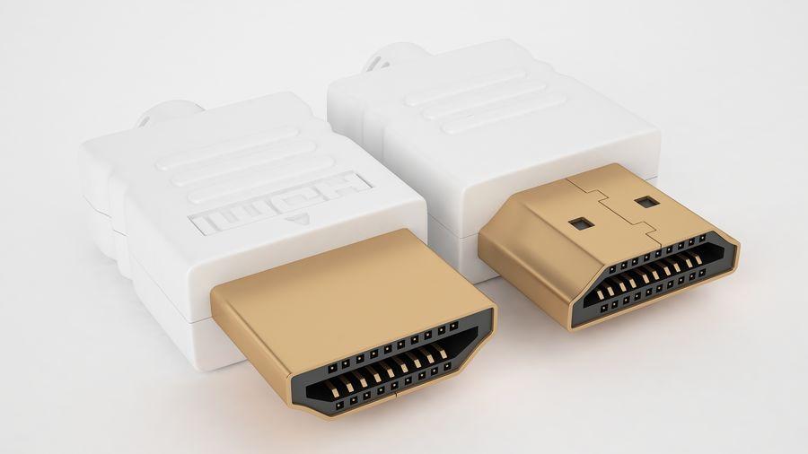 HDMI Port 03 royalty-free 3d model - Preview no. 7