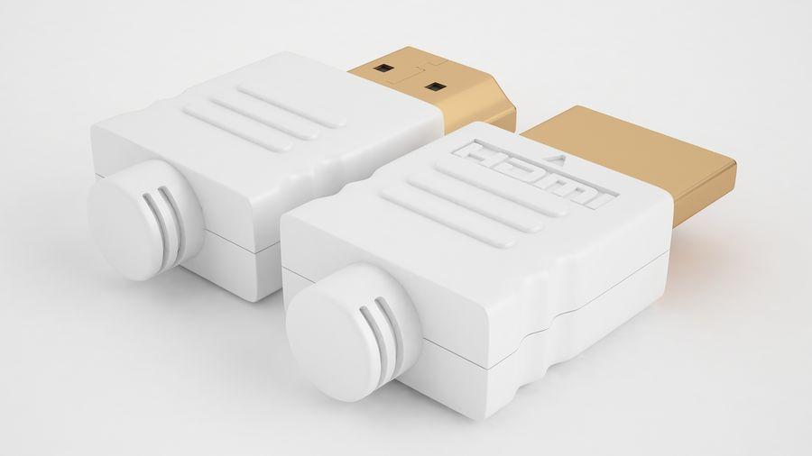 HDMI Port 03 royalty-free 3d model - Preview no. 9