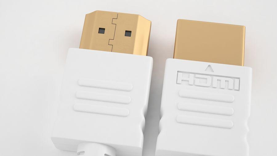 HDMI Port 03 royalty-free 3d model - Preview no. 13
