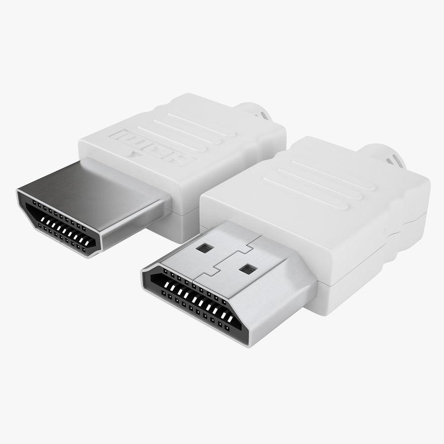 HDMI Port 04 royalty-free 3d model - Preview no. 1