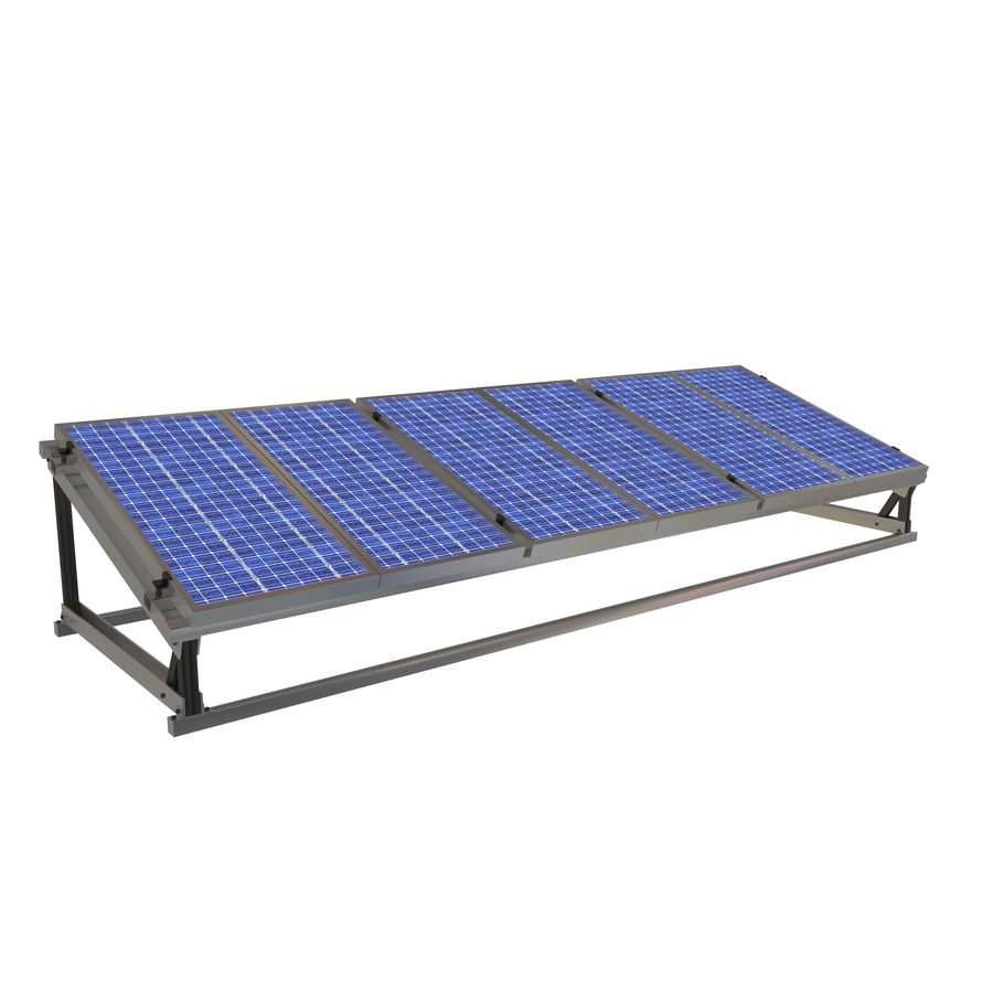 Solar Panel royalty-free 3d model - Preview no. 1