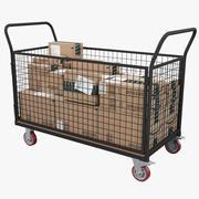 Carrello di trasporto 3d model