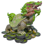 Dragon tortue 3d model