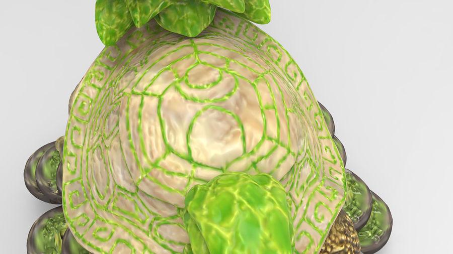 Turtle Dragon royalty-free 3d model - Preview no. 10