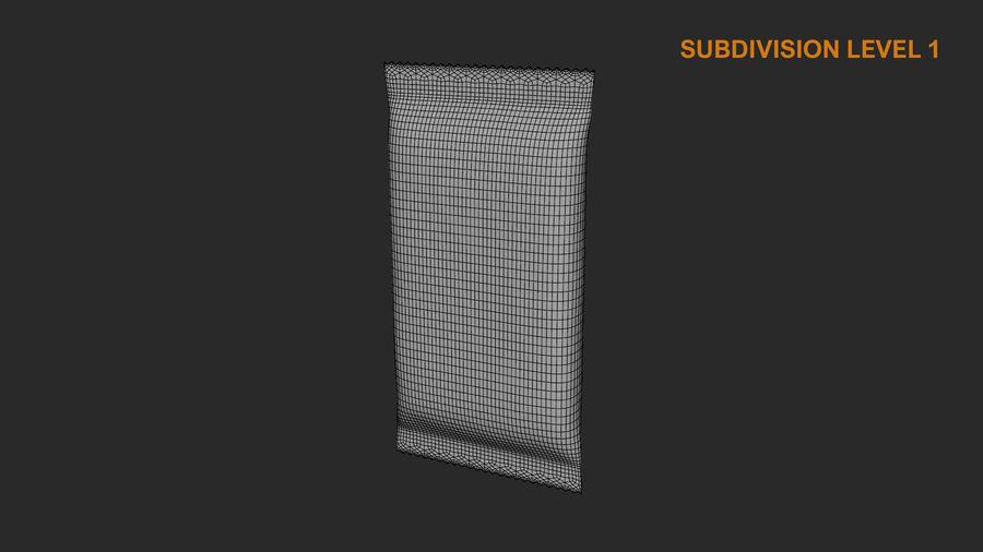 2 Food Bar Bag royalty-free 3d model - Preview no. 22