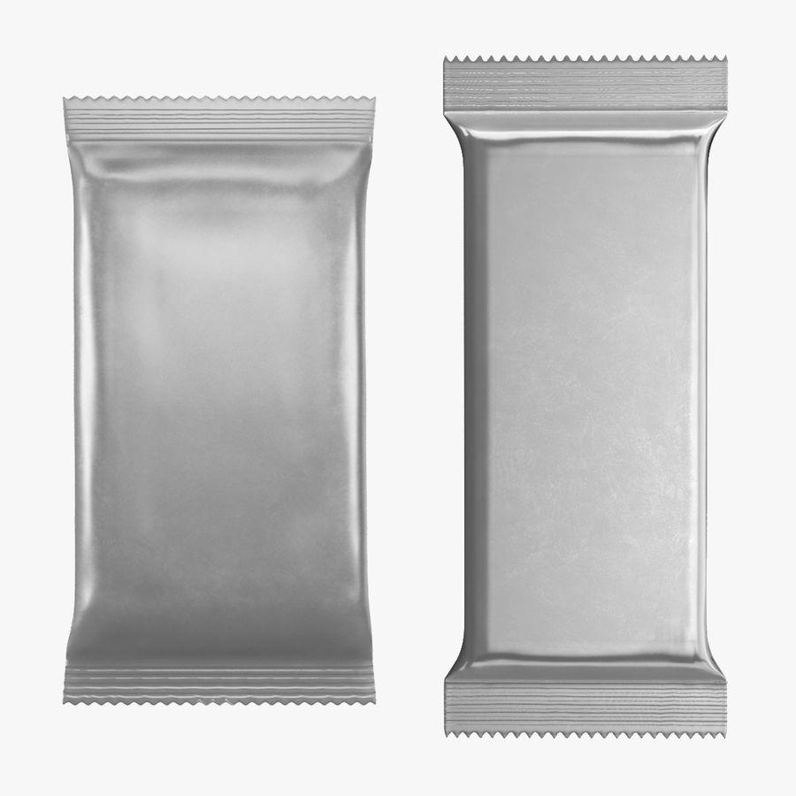 2 Food Bar Bag royalty-free 3d model - Preview no. 1