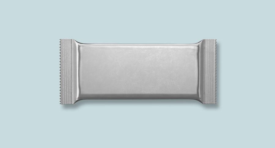 2 Food Bar Bag royalty-free 3d model - Preview no. 2