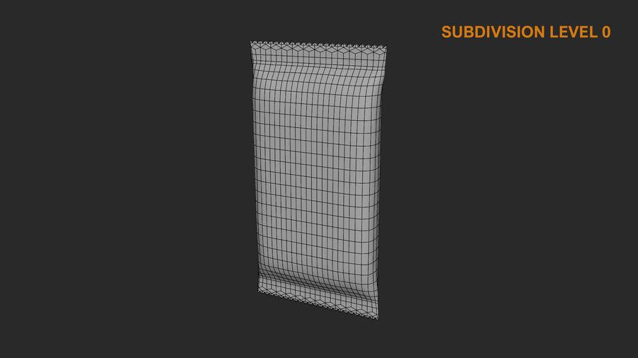 2 Food Bar Bag royalty-free 3d model - Preview no. 23