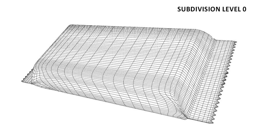 2 Food Bar Bag royalty-free 3d model - Preview no. 15
