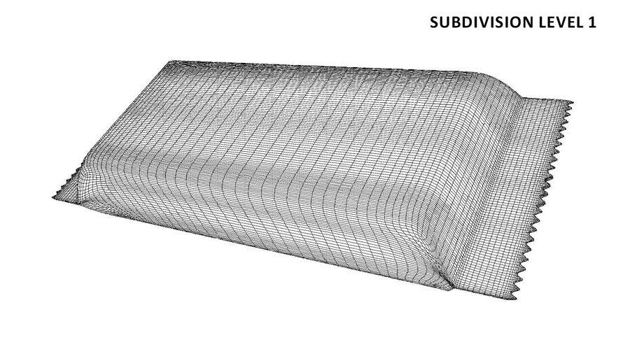 2 Food Bar Bag royalty-free 3d model - Preview no. 13